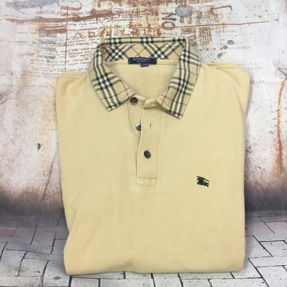 d31adbed Burberry Shirts | Men Vintage Polo Type Shirt L England | Poshmark